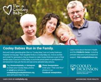 Cooley Babies Run in the Family