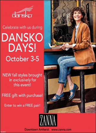 Dansko Days!
