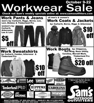 Workwear Sale
