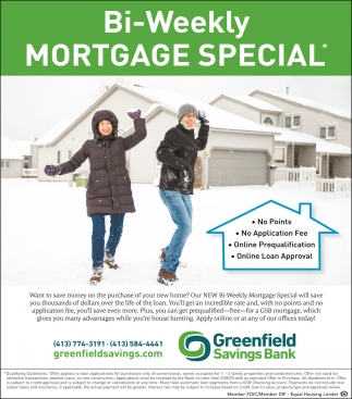 Bi-Weekly Mortgage Special