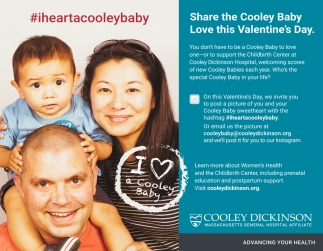 Share the Colley Baby Love this Valentine's Day