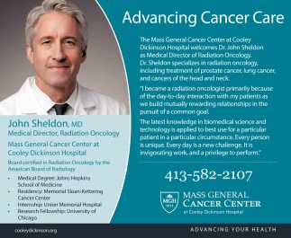 Advancing Cancer Care
