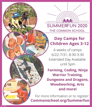 Day Camps for Children Ages 3-12