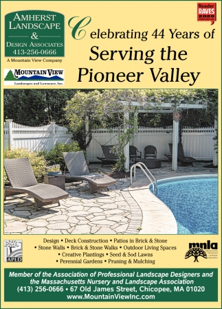 Celebrating 44 Years of Serving the Pioneer Valley