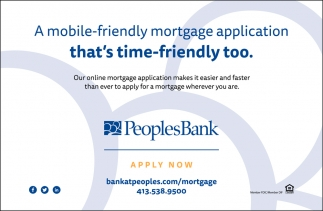 A Mobile-Friendly Mortgage Application