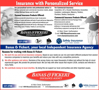 Insurance With Personalized Service