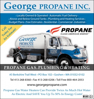Propane Gas, Plumbing & Heating