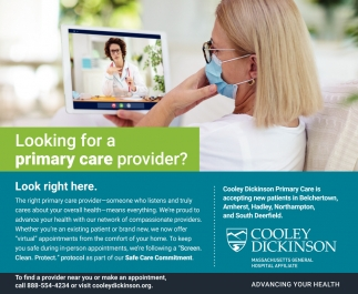 Looking for a Primary Care Provider?