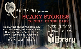 Qartistry Presents Scary Stories To Tell In The Dark