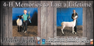 4-H Memories To Last A Lifetime