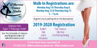 Walk-In Registration