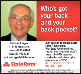 Who's Got Youur Back And Your Back Pocket?