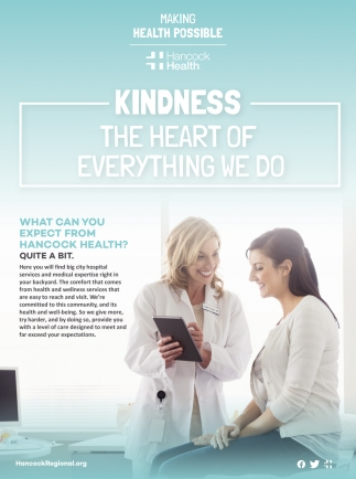 Kindness. The Heart Of Everything We Do.