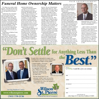 Funeral Home Ownership Matters