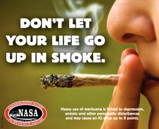 Don't Let Your Life Go Up In Smoke