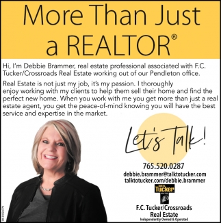 More Than Just A Realtor