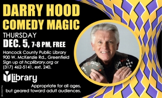 Darry Hood Comedy Magic