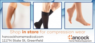 Shop In Store For Compression Wear