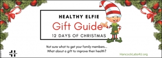 Healthy Elfie Gift Guide