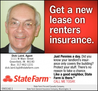 Get A New Lease On Renters Insurance.