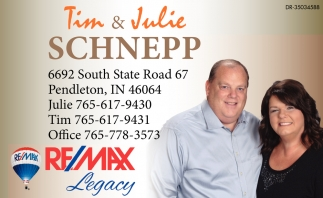 Re/Max Legacy: Tim & Julie Schnepp