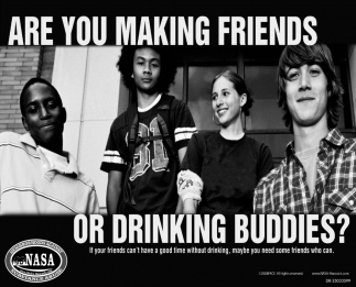 Are You Making Friends Or Drinking Buddies?