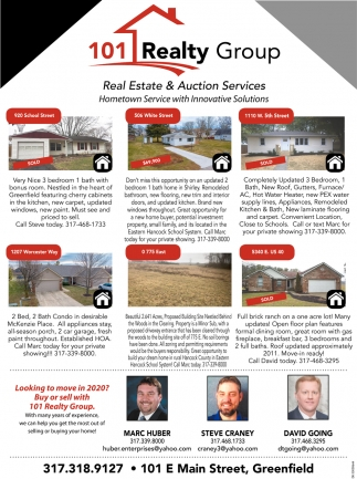 Real Estate & Auction Services