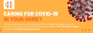 Caring For COVID-19 In Your Home?