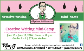 Creative Writing Mini-Camp