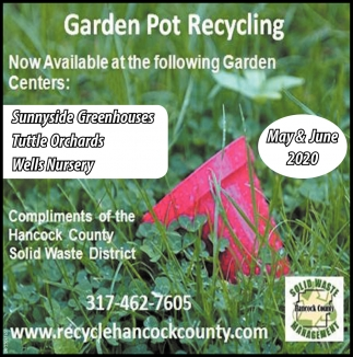 Garden Pot Recycling