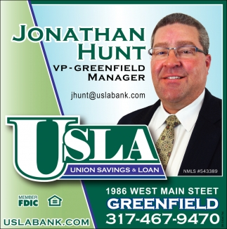 Jonathan Hunt VP-Greenfield Manager