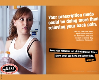 Your Prescription Meds Could Be Doing More Than Relieving Your Back Pain.
