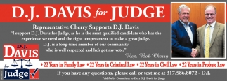 D.J. Davis For Judge