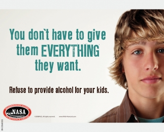 Refuse To Provide Alcohol For Your Kids