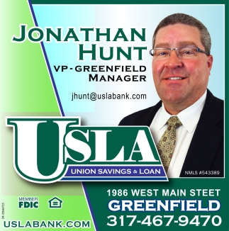 Jonathan Hunt VP - Greenfield Manager