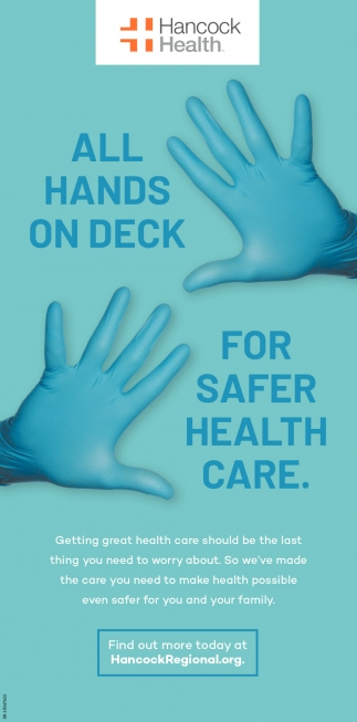 All Hands On Deck For Safer Health Care.