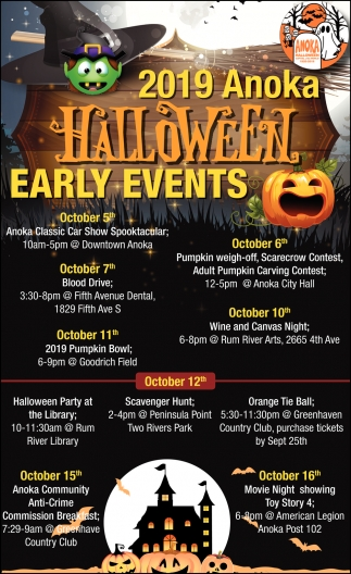 Anoka Mn Halloween Events 2020 2019 Anoka Halloween Early Events, 2019 Anoka Halloween Early Events