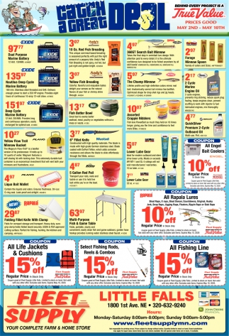 your complete farm home store fleet supply little falls little falls mn ads