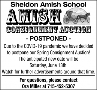 Apartments For Rent Sheldon Rd Tampa Fl: Postponed, Sheldon Amish School