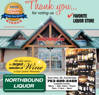 Thank You... for Voting Us Favorite Liquor Store