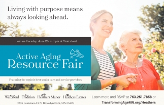 Active Aging Resource Fair