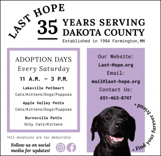 35 Years Serving Dakota County