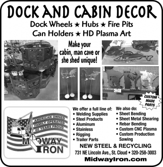 Dock and Cabin Decor
