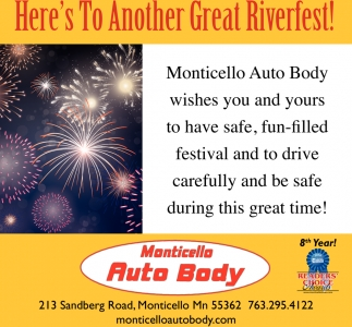 Here's to Another Great Riverfest!