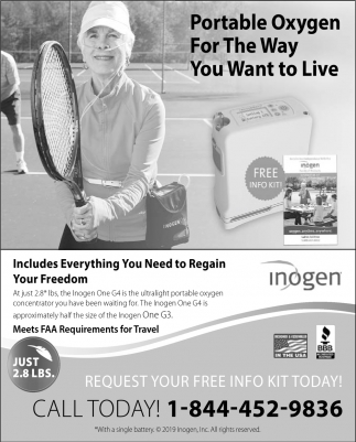 Portable Oxygen for the Way You Want to Live