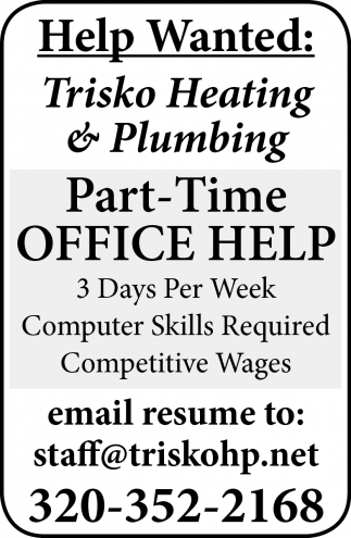 Part-Time Office Help