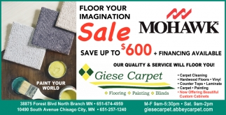 Floor Your Imagination Sale