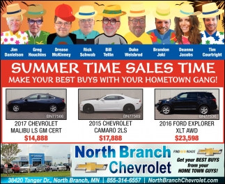 Summer Time Sales Time