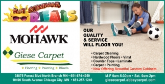 Our Quality & Service Will Floor You!
