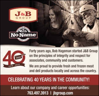 Celebrating 40 Years in the Community!
